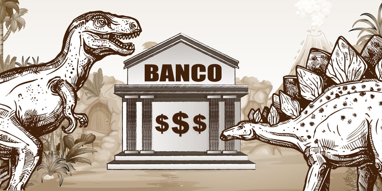 Bancos y dinero en extincion