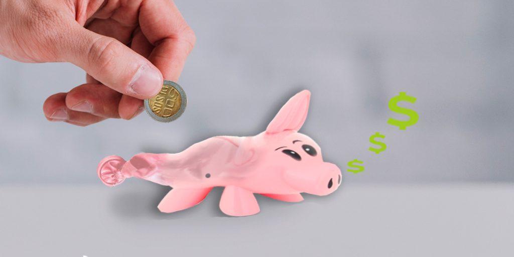 Si deja el dinero quieto: pierde